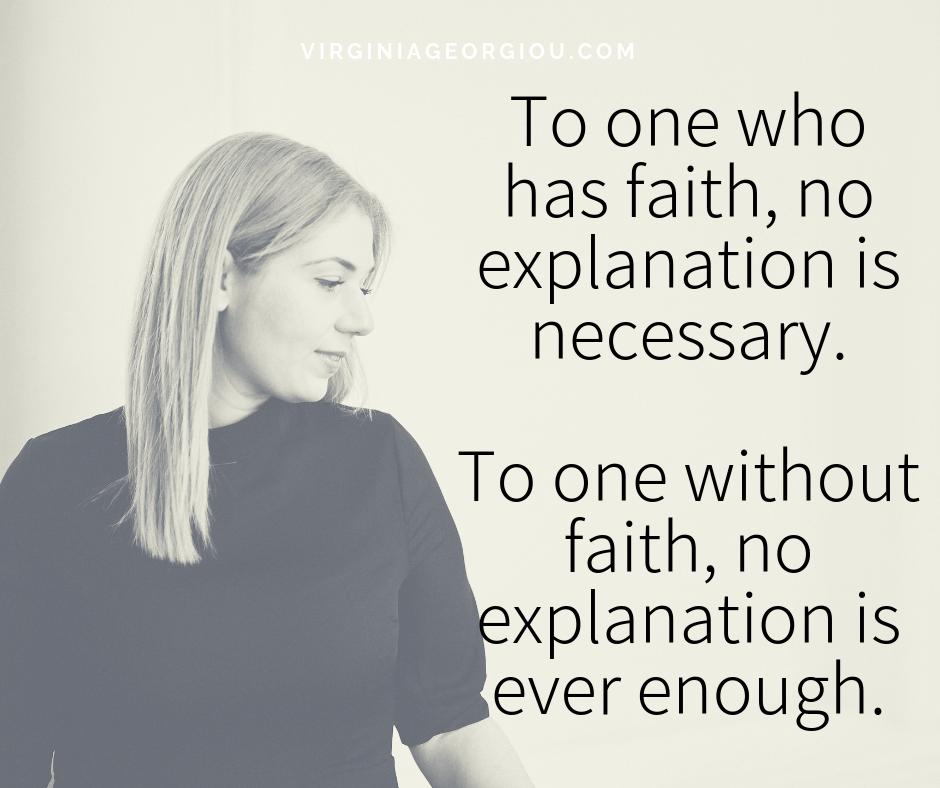Faith it until you Make it!